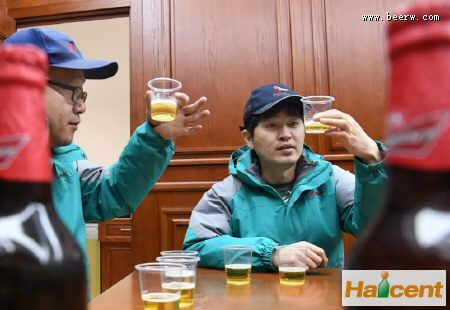 百威英博牡丹江公司生产的百威威廉希尔app网站4月投放市场