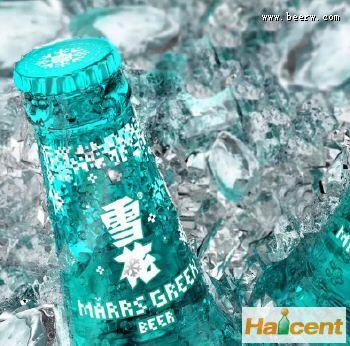 雪花威廉希尔app网站新款马尔斯绿瓶装威廉希尔app网站(组图)