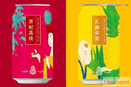 台虎精酿推出两款新品:贵妃荔枝和孔融奉梨