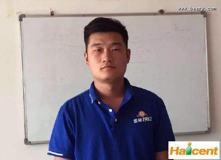 金星威廉希尔app网站主管吕林博:信心满满、坚持不懈就能打胜仗