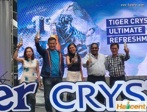 """马来西亚:虎牌威廉希尔app网站推出新品""""Tiger Crystal"""""""