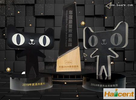 """青岛雷竞技app官网荣膺天猫""""年度最受欢迎品牌"""""""