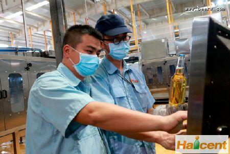广州南沙珠江fun88乐天堂公司成品酒检验实现智能化