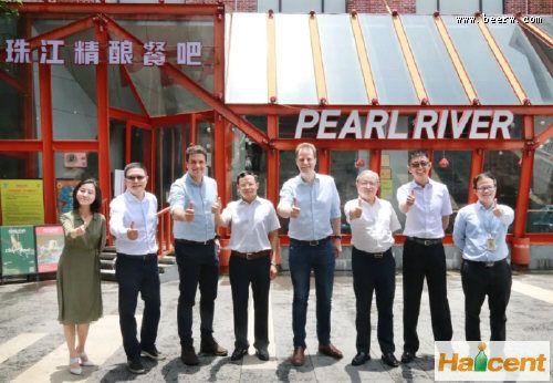百威亚太首席执行官杨克到访珠江fun88乐天堂