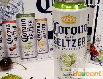 科罗娜含酒精苏打水已在美国排名第四