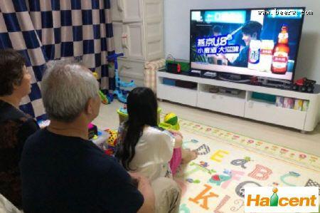 燕京fun88乐天堂跨界海信电视,不上头的fun88乐天堂让全国看的真切