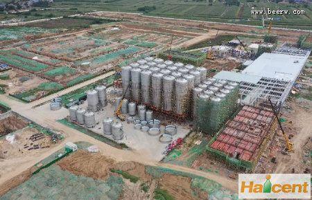 青岛雷竞技APP下载西安临潼100万千升项目最新进展