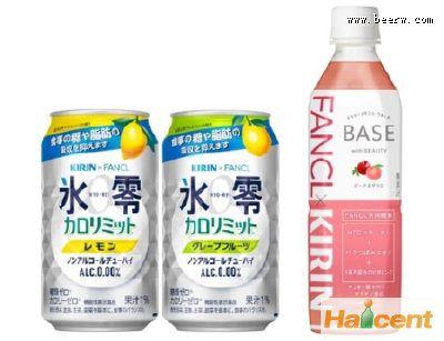 日本麒麟计划10月推出功能性饮料