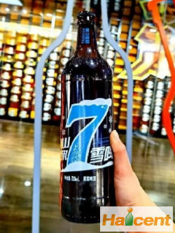 """泰山原浆啤酒推出新品""""雪啤"""""""