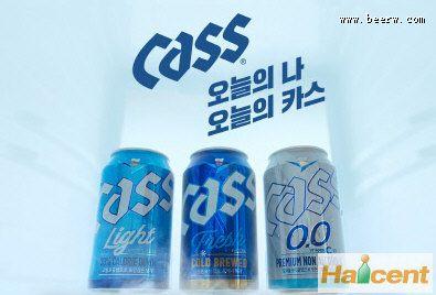 韩国OB啤酒公司推出凯狮系列产品新广告