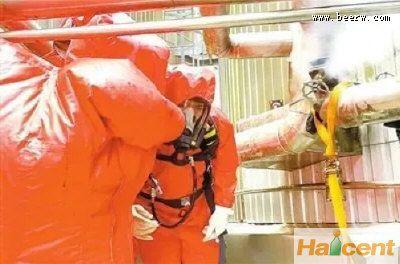 麒麟啤酒珠海公司发生液氨泄漏事件