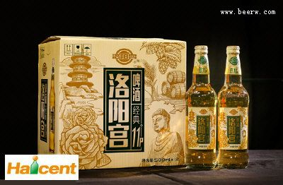 """百威英博洛阳宫11°啤酒""""重出江湖"""""""